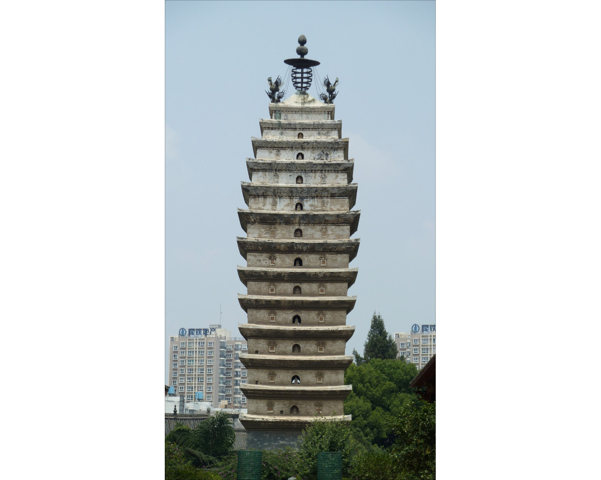 Kunming, West Temple Pagoda
